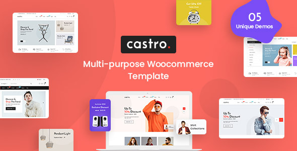 [Free Download] Castro – eCommerce HTML Template (Nulled) [Latest Version]
