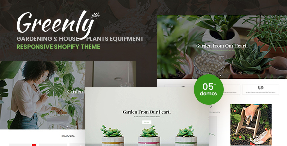 [Free Download] Greenly – Gardening & Houseplants Equipment Responsive Shopify Theme (Nulled) [Latest Version]
