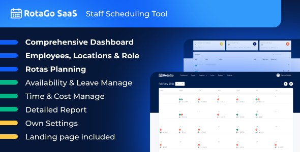 [Free Download] RotaGo SaaS – Staff Scheduling Tool (Nulled) [Latest Version]