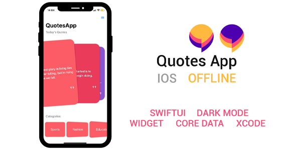 [Free Download] Quotes SwiftUI IOS App (Nulled) [Latest Version]