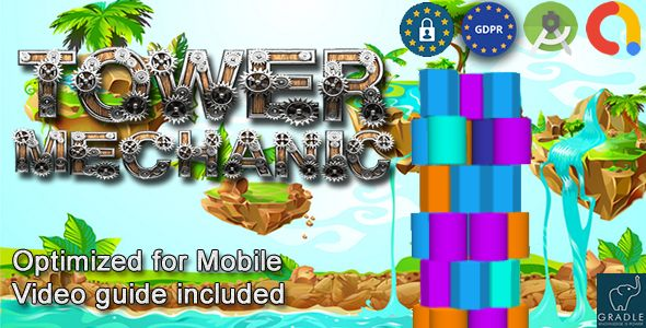 [Free Download] Tower Mechanic (Admob + GDPR + Android Studio) (Nulled) [Latest Version]