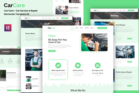 [Free Download] CarCare – Auto Service & Repair Elementor Template Kit (Nulled) [Latest Version]