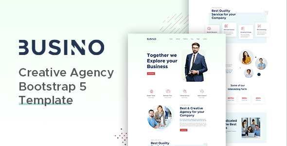[Free Download] Busino – Creative Agency Bootstrap 5 Template (Nulled) [Latest Version]