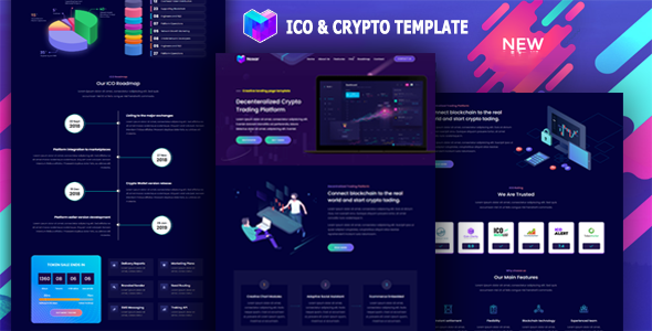 [Free Download] Nosar – ICO and Crypto Template (Nulled) [Latest Version]