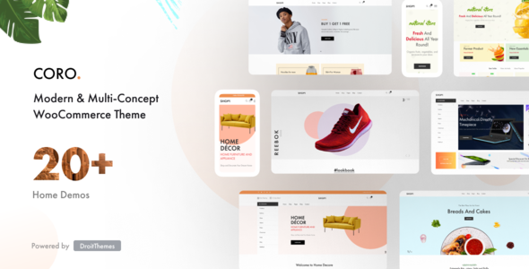[Free Download] Coro – Creative & Modern Elementor WooComerce Theme (Nulled) [Latest Version]