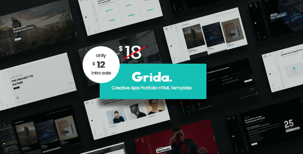 [Free Download] Grida – Creative Agency Ajax Portfolio & personal HTML Template (Nulled) [Latest Version]