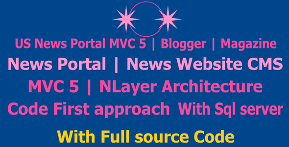 [Free Download] US News Portal MVC 5   Blogger   Magazine   News Portal   News Website CMS   MVC 5 News Website (Nulled) [Latest Version]