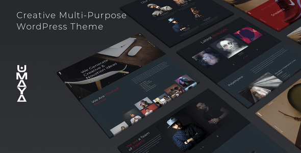 [Free Download] Umaya – Creative Portfolio Agency WordPress Theme (Nulled) [Latest Version]