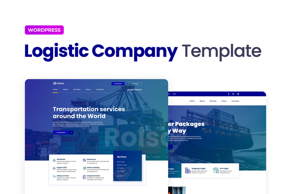 [Free Download] Rolso – Logistic Company Elementor Template Kit (Nulled) [Latest Version]