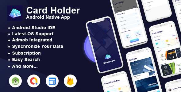 [Free Download] Card Holder Android App with Admin Panel (Nulled) [Latest Version]