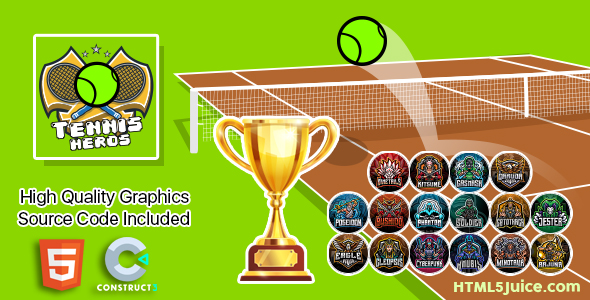 [Free Download] Tennis Heroes (Nulled) [Latest Version]