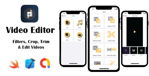 [Free Download] Video Editor – Filters, Crop, Trim & Edit Videos   Google AdMob   iOS Source Code (Nulled) [Latest Version]