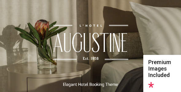 [Free Download] Augustine – Hotel Booking Theme (Nulled) [Latest Version]