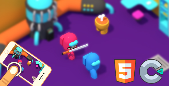 [Free Download] Red Impostor vs. Crew (HTML5 Game – Construct 3) (Nulled) [Latest Version]