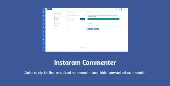 [Free Download] Icommenter – auto reply and moderate the Instagram comments (Nulled) [Latest Version]