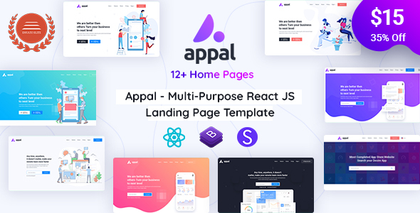 [Free Download] Appal – React Technology and IT Startup Template (Nulled) [Latest Version]
