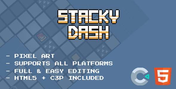 [Free Download] Stacky Dash – HTML5 Game (Nulled) [Latest Version]