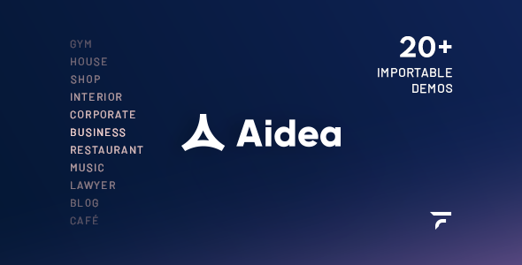 [Free Download] Aidea — Business WordPress Theme (Nulled) [Latest Version]