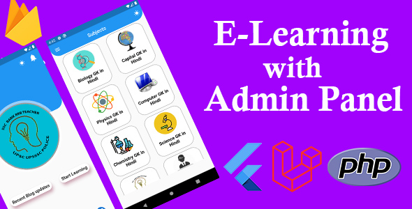 [Free Download] Flutter learning App with Admin Panel (Nulled) [Latest Version]