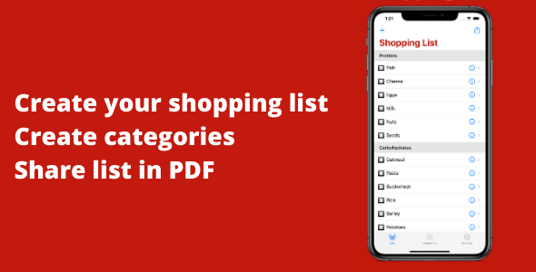 [Free Download] My Grocery & Shopping List (Nulled) [Latest Version]