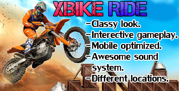 [Free Download] XBIKE RIDE ( CONSTRUCT 2 + HTML5) (Nulled) [Latest Version]
