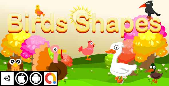 [Free Download] Edukida – Birds Shapes Unity Kids Educational Game For Android And iOS With Admob (Nulled) [Latest Version]