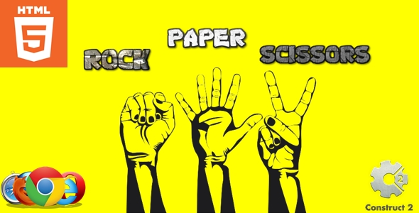 [Free Download] Rock Paper Scissors – HTML5 – Casual game (Nulled) [Latest Version]