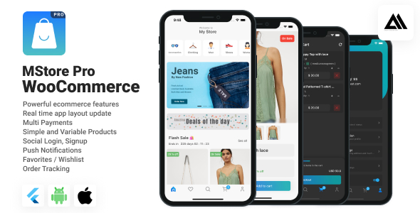 [Free Download] WooStore Pro WooCommerce – Full Flutter Ecommerce App (Nulled) [Latest Version]