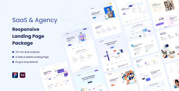 [Free Download] SaaS & Agency Responsive Landing Page Package (Nulled) [Latest Version]