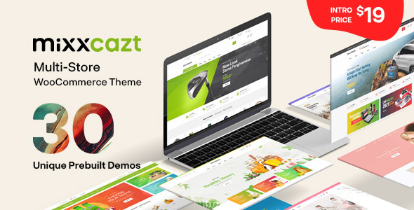 [Free Download] Mixxcazt – Creative Multipurpose WooCommerce Theme (Nulled) [Latest Version]