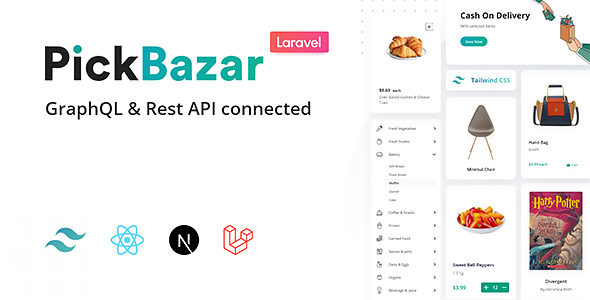 [Free Download] Pickbazar Laravel – React, Next, REST & GraphQL Ecommerce (Nulled) [Latest Version]