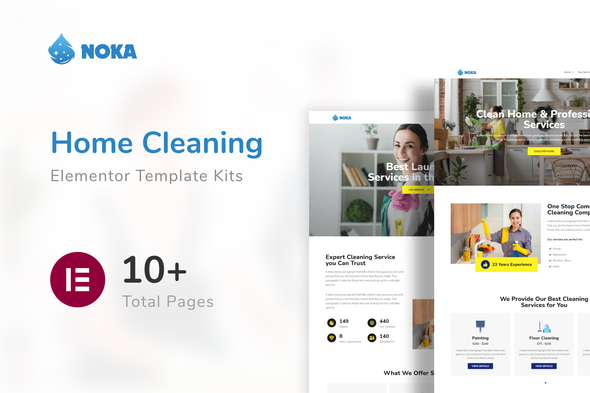 [Free Download] Noka – Cleaning Company Service Template Kit (Nulled) [Latest Version]