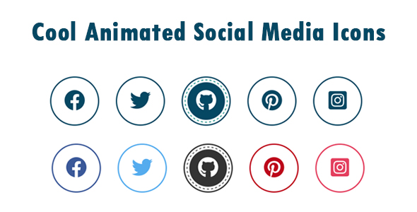 [Free Download] Cool Animated Social Media Icons (Nulled) [Latest Version]