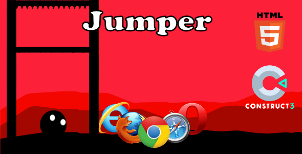 [Free Download] Jumper – HTML5 Game (With Construct 3 All Source-code .c3p) (Nulled) [Latest Version]