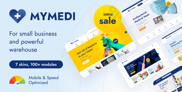 [Free Download] MyMedi – eCommerce HTML Template (Nulled) [Latest Version]