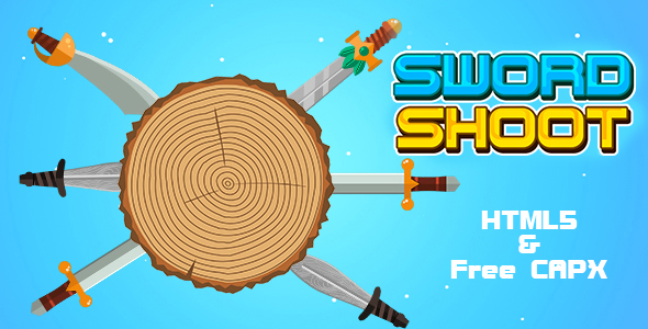 [Free Download] Sword Shoot Game (HTML5   Cordova   Free CAPX) Endless Game (Nulled) [Latest Version]
