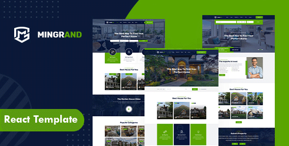 [Free Download] Mingrand – Real Estate React Template (Nulled) [Latest Version]