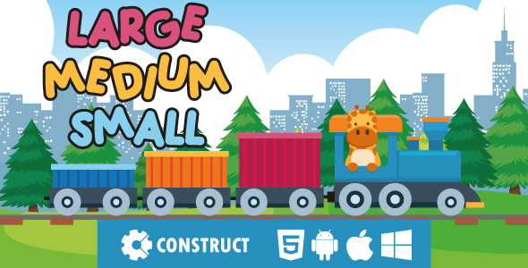 [Free Download] Large Medium Small – HTML5 Educational Game (Nulled) [Latest Version]