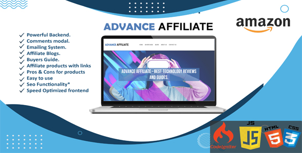 [Free Download] Advance Affiliate – Amazon Affiliate Blog (Nulled) [Latest Version]