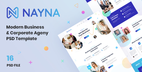 [Free Download] Nayna | Modern Corporate and Business Psd Template (Nulled) [Latest Version]