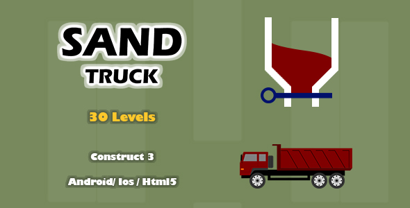 [Free Download] Sand Truck – HTML5 Game (Construct 3) (Nulled) [Latest Version]