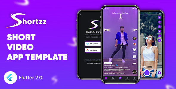 [Free Download] Shortzz : Short Video App Template Flutter | Android | iOS | Tiktok Clone Template (Nulled) [Latest Version]