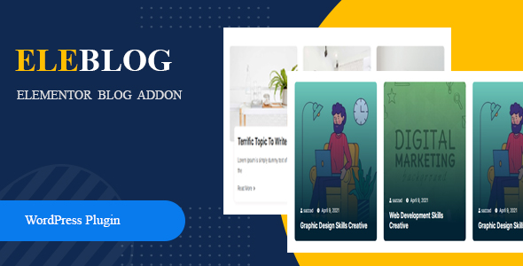 [Free Download] Eleblog – Elementor Blog Addon (Nulled) [Latest Version]