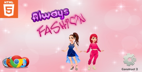 [Free Download] Always Fashion – Dress up game – HTML5 (Nulled) [Latest Version]
