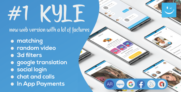 [Free Download] Kyle Pro – Premium Random Video & Dating and Matching (PHP & MySql) (Nulled) [Latest Version]