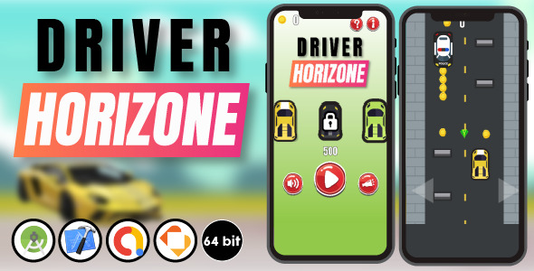 [Free Download] Driver Horizone – Android Studio & Xcode & Buildbox Template (Nulled) [Latest Version]