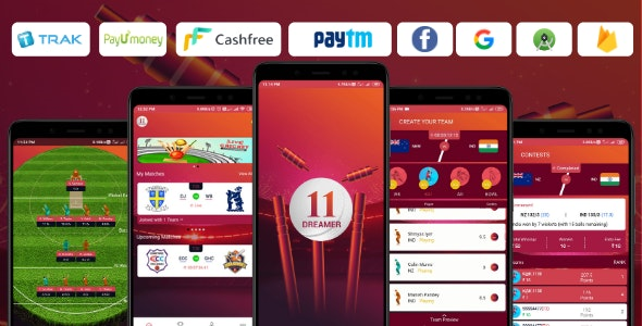 [Free Download] Dream11 Clone App – Start your own Fantasy Sports App (Nulled) [Latest Version]