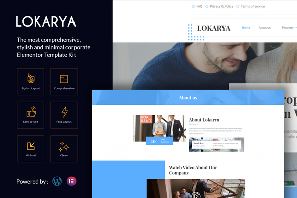 [Free Download] Lokarya – Real Estate Elementor Template Kit (Nulled) [Latest Version]