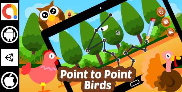 [Free Download] Edukida – Point to Point Birds Unity Kids Educational Game With Admob For Android and iOS (Nulled) [Latest Version]