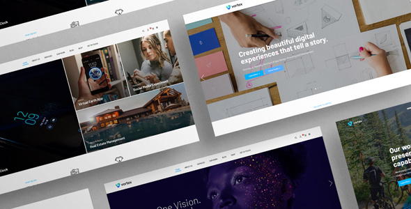 [Free Download] Vorzex – Creative Agency HTML5 Responsive Template (Nulled) [Latest Version]